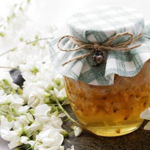 Искуственный мед из цветков акации