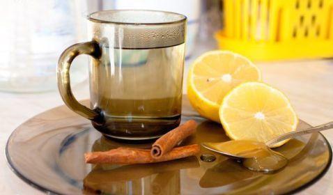 Корица с лимоном и медом для похудения
